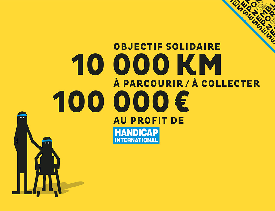 Sport Ensemble la course solidaire de Handicap International