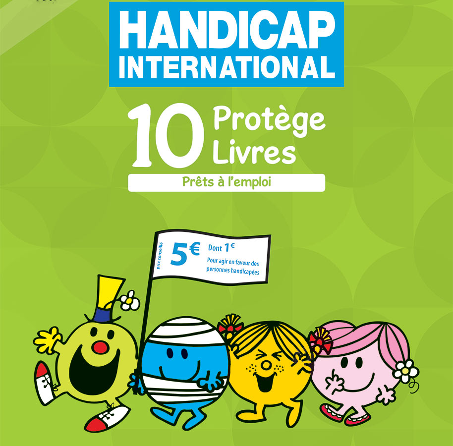 Le Groupe M6 soutient l'opération Kit Plio de Handicap International