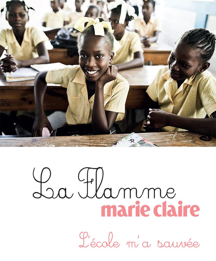 Le Groupe M6 soutient l'opération Flamme Marie-Claire