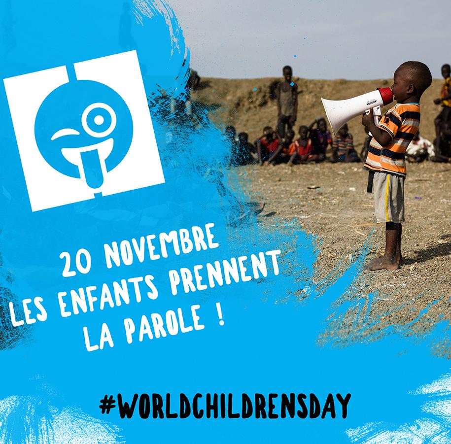 Le Groupe M6 soutient la Journée Mondiale des Enfants le 20 novembre 2017