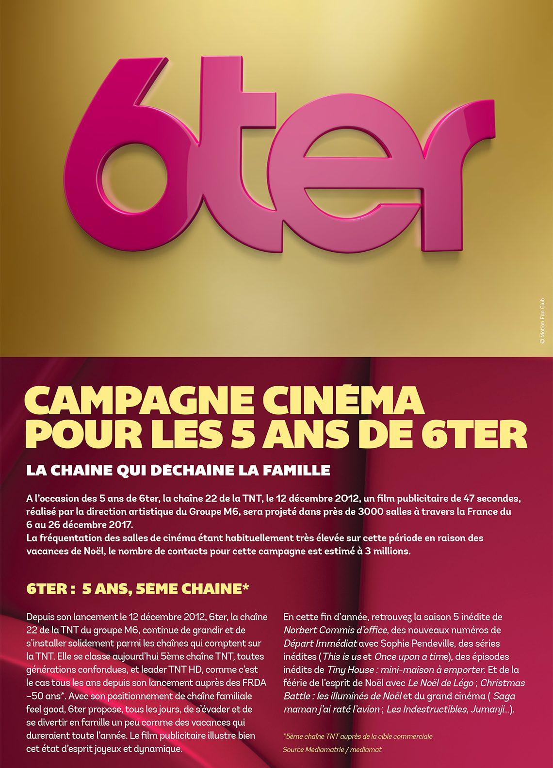 Campagne cinéma pour les 5 ans de 6ter 55367447d6f