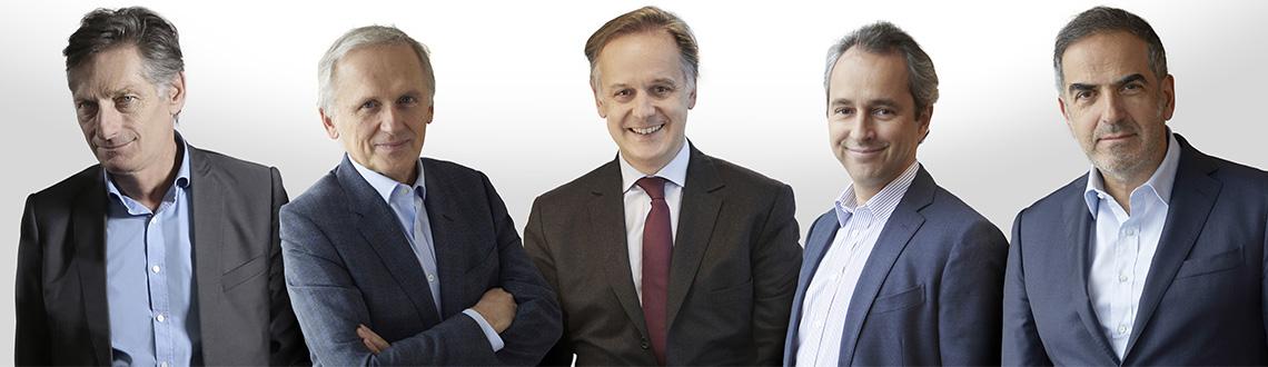 Le Dirctoire du Groupe M6