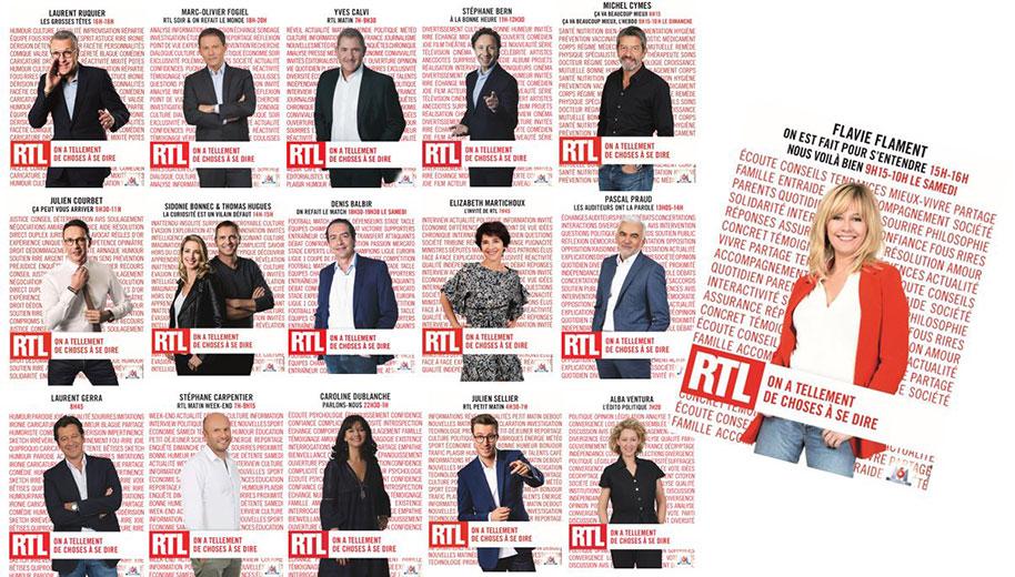Campagne de rentrée RTL